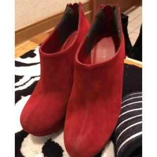 ジュリアーノジュリ(JURIANO JURRIE)のショートブーツ(ブーツ)