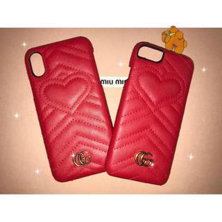 グッチ(Gucci)のgg marmont iPhone case(iPhoneケース)