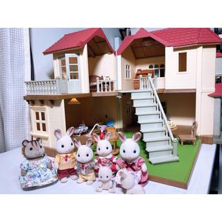 エポック(EPOCH)の○hitomi様専用 あかりの灯る大きなお家(ぬいぐるみ/人形)