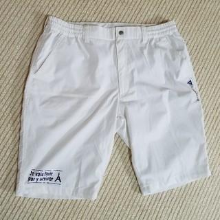 ルコックスポルティフ(le coq sportif)のゴルフ用メンズパンツ(ショートパンツ)