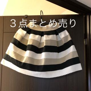 ハニーバンチ(Honey Bunch)のレディース ハニーバンチ・他 スカート3点まとめ売り(ミニスカート)