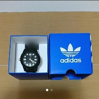アディダス(adidas)の未使用 メンズ アディダス 時計 ブラック(腕時計(アナログ))