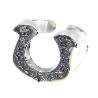 シルバー925 ホースシュー リング 馬蹄 SILVER RING(リング(指輪))