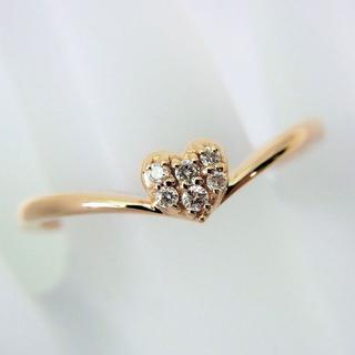 サマンサティアラ(Samantha Tiara)のサマンサティアラ K18PG ダイヤモンド リング 13号[f415-10](リング(指輪))