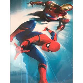 マーベル(MARVEL)のマーベル展限定 marvel スパイダーマン アイアンマン アートパネル(アメコミ)