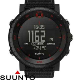 スント(SUUNTO)の早い者勝ち SUUNTO CORE【BLACK RED】限定 スント コア(腕時計(デジタル))