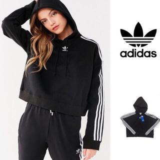 adidas - ♡adidas originals♡クロップド パーカー ショート丈