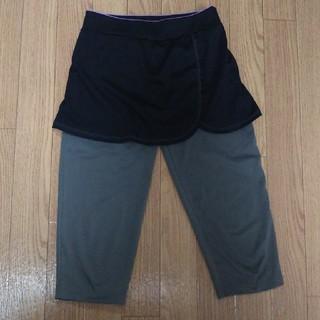 ジーユー(GU)のgu sports スパッツ付き スカート(ウェア)