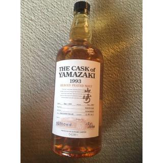 ニッカウイスキー(ニッカウヰスキー)のTHE CASK OF YAMAZAKI 1993 ヘビリーピーテッド(ウイスキー)