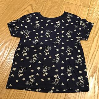ユニクロ(UNIQLO)のミッキーTシャツ★100(Tシャツ/カットソー)