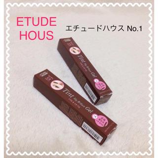 エチュードハウス(ETUDE HOUSE)のいずみ様 専用  1号3本(眉マスカラ)