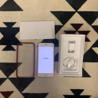 アイフォーン(iPhone)のsimフリー iPhone7 plus 128GB ピンクゴールド(スマートフォン本体)