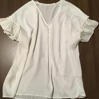 ジーユー(GU)のGU ブラウス(シャツ/ブラウス(半袖/袖なし))