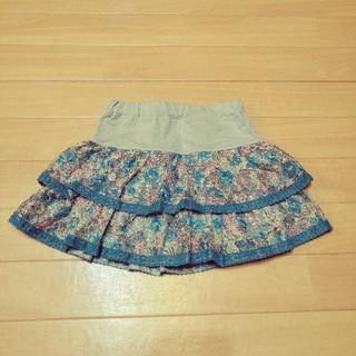 アナスイミニ(ANNA SUI mini)の美品 ANNA SUI スカート キュロット 110cm(スカート)