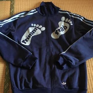 アディダス(adidas)の美品 レア アディダストラック ジャケット トリムトラブ ジャージ ネイビー(ジャージ)