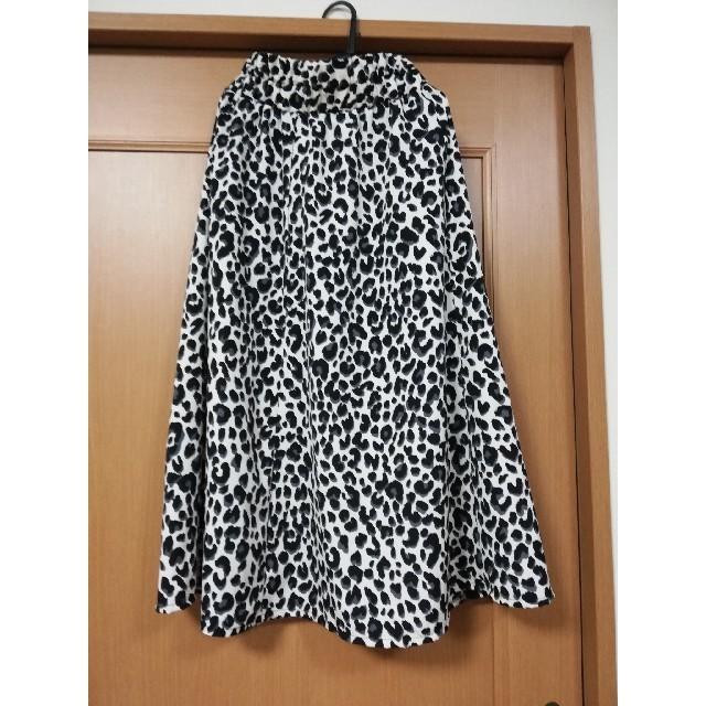 しまむら(シマムラ)のしまむら レオパードスカート レディースのスカート(ロングスカート)の商品写真