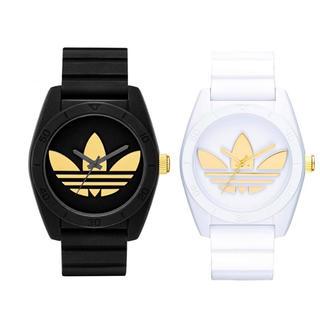 アディダス(adidas)のadidas 腕時計 黒(腕時計)