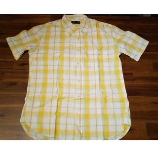 ハリウッドランチマーケット(HOLLYWOOD RANCH MARKET)のH.R.MARKET 半袖 チェックシャツ(シャツ)