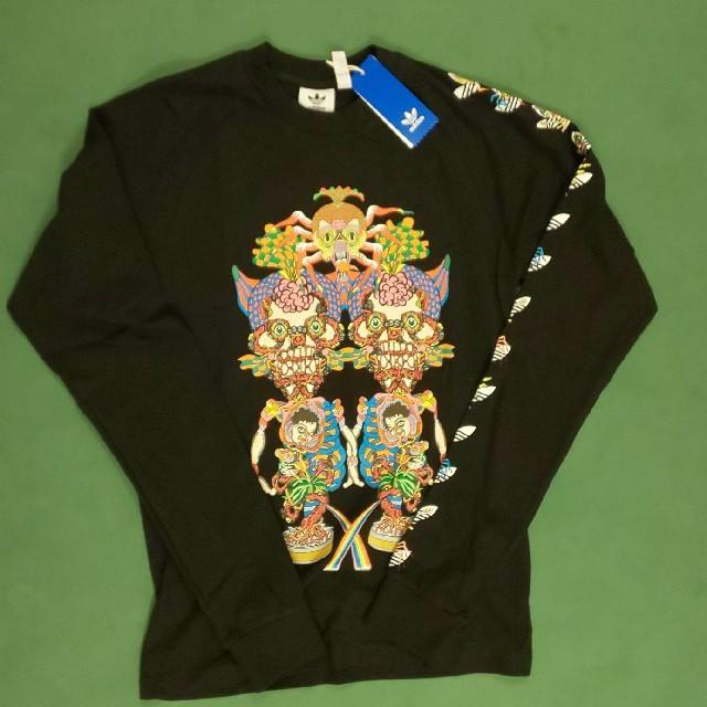 adidas(アディダス)のSサイズadidas 長袖Tシャツ   TANAAMIコラボ  ロンティー  メンズのトップス(Tシャツ/カットソー(七分/長袖))の商品写真