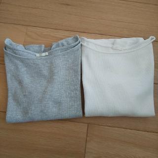 ジーユー(GU)のトップス ワッフル Tシャツ gu コムサ セット(Tシャツ(半袖/袖なし))