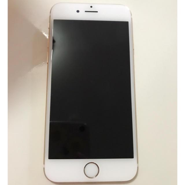 Apple(アップル)の 【本体のみ】(ケースも) au iPhone6 64GB ゴールド スマホ/家電/カメラのスマートフォン/携帯電話(スマートフォン本体)の商品写真