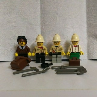 レゴ(Lego)のレゴ ミニフィグ 冒険セット(知育玩具)