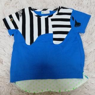 ナルミヤ インターナショナル(NARUMIYA INTERNATIONAL)のBABY CHEER ベイビーチアー シマウマTシャツ (Tシャツ/カットソー)