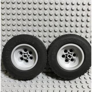 レゴ(Lego)のLEGO レゴ タイヤ 62.4×20.5  2個(知育玩具)