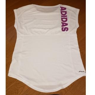 アディダス(adidas)のadidas アディダス Tシャツ レディース(Tシャツ(半袖/袖なし))