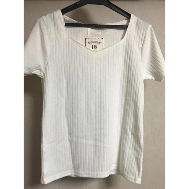 しまむら(シマムラ)の白T レディースのトップス(Tシャツ(半袖/袖なし))の商品写真