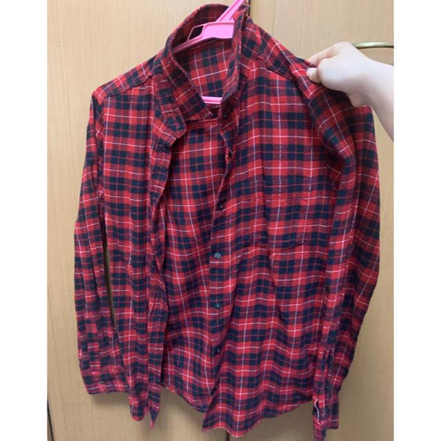 GU(ジーユー)のGU チェックシャツ レディースのトップス(シャツ/ブラウス(長袖/七分))の商品写真