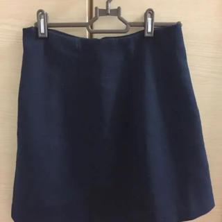 ジーユー(GU)のGU シンプルコーデ スカート(ひざ丈スカート)