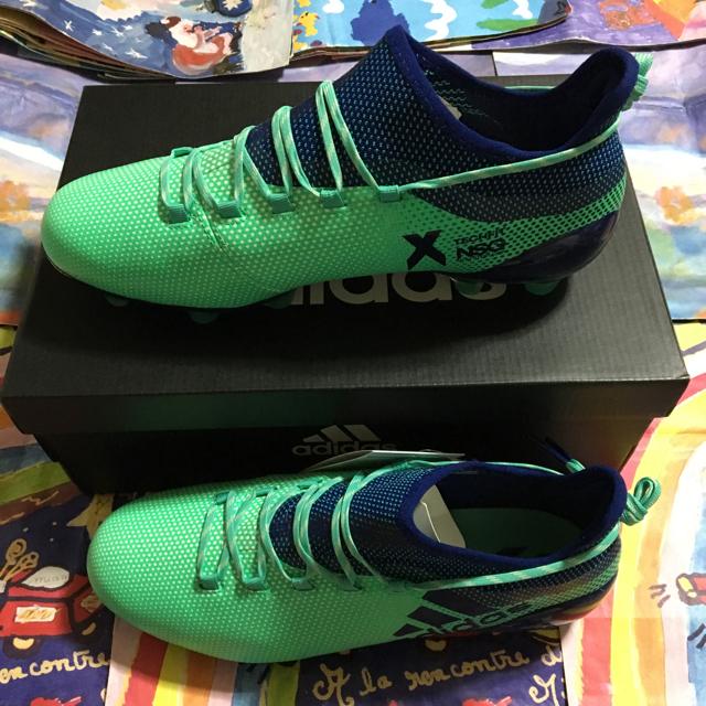 adidas(アディダス)のエックス 26.0cm HG X アディダス サッカー フットサル 新品 スポーツ/アウトドアのサッカー/フットサル(シューズ)の商品写真