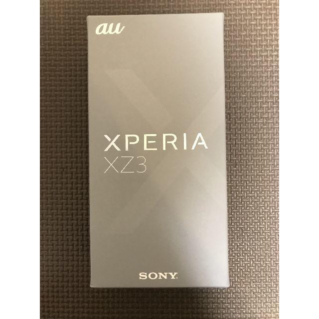 SONY(ソニー)の新品未使用 Xperia XZ3 SOV39 SIMフリー保証! スマホ/家電/カメラのスマートフォン/携帯電話(スマートフォン本体)の商品写真