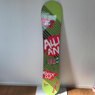 アライアン(ALLIAN)のスノボ   板 アライアン 138 雪山滑走不可!(ボード)