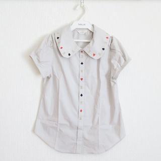 ジェーンマープル(JaneMarple)のJANE MARPLE ジェーンマープル トランプ ブラウス 刺繍(シャツ/ブラウス(半袖/袖なし))