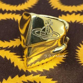 ヴィヴィアンウエストウッド(Vivienne Westwood)の《訳あり》ナックルダスター リング/ゴールド/925/M(リング(指輪))