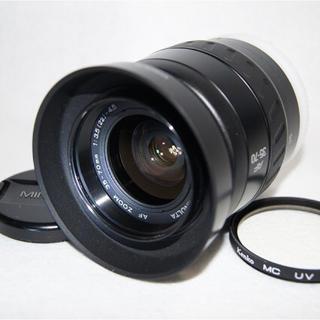 コニカミノルタ(KONICA MINOLTA)のMINOLTA AF ZOOM35-70mm 1:3.5-4.5Φ49mmNew(レンズ(ズーム))