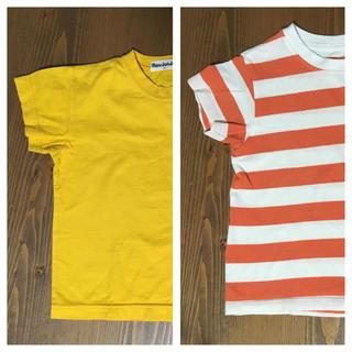 ユニクロ(UNIQLO)のポップカラーTシャツ2枚 90(Tシャツ/カットソー)