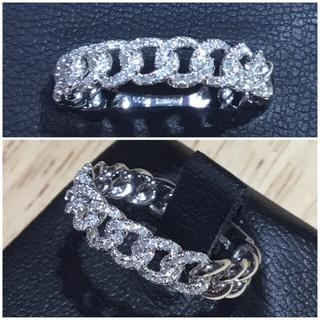 タロ様専用❗️ホワイトゴールド ダイヤモンドリング 指輪 約14号(リング(指輪))