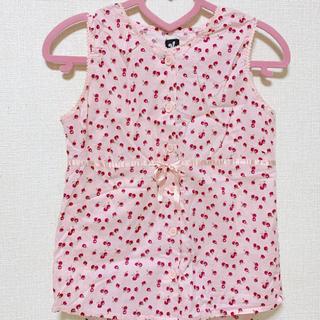 スパンク(Spank!)のノースリーブシャツ(シャツ/ブラウス(半袖/袖なし))