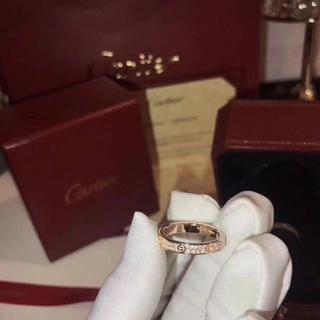 カルティエ(Cartier)のカルティエ ラブ リングリング(リング(指輪))