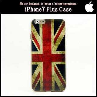 スマホ ケース イギリス iPhone7 Plus ハード ヴィンテージ 保護(iPhoneケース)