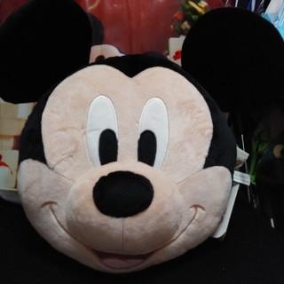 ディズニー(Disney)のミッキー フェイスクッション(クッション)