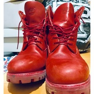 ティンバーランド(Timberland)の箱付き 美品 ティンバーランド 6インチブーツ  靴(ブーツ)