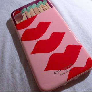 ケイトスペードニューヨーク(kate spade new york)のケイトスペード  iPhoneX XSケース(iPhoneケース)