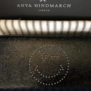約50%オフ 新品 Anya アニヤハインドマーチ レア 長財布 ウインク 黒