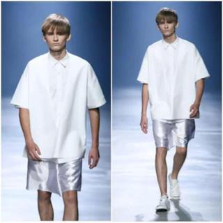 シセ(Sise)のsise  メンズ オーバーサイズwhiteシャツ(シャツ)