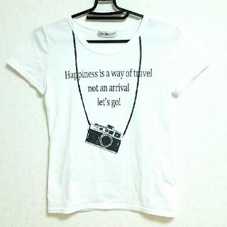 シマムラ(しまむら)のしまむら ロゴ カメラ Tシャツ(Tシャツ(半袖/袖なし))