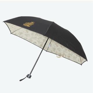 ディズニー(Disney)の【販売終了】 ディズニーリゾート 折り畳み傘 グランドフィナーレ 【新品未使用】(傘)